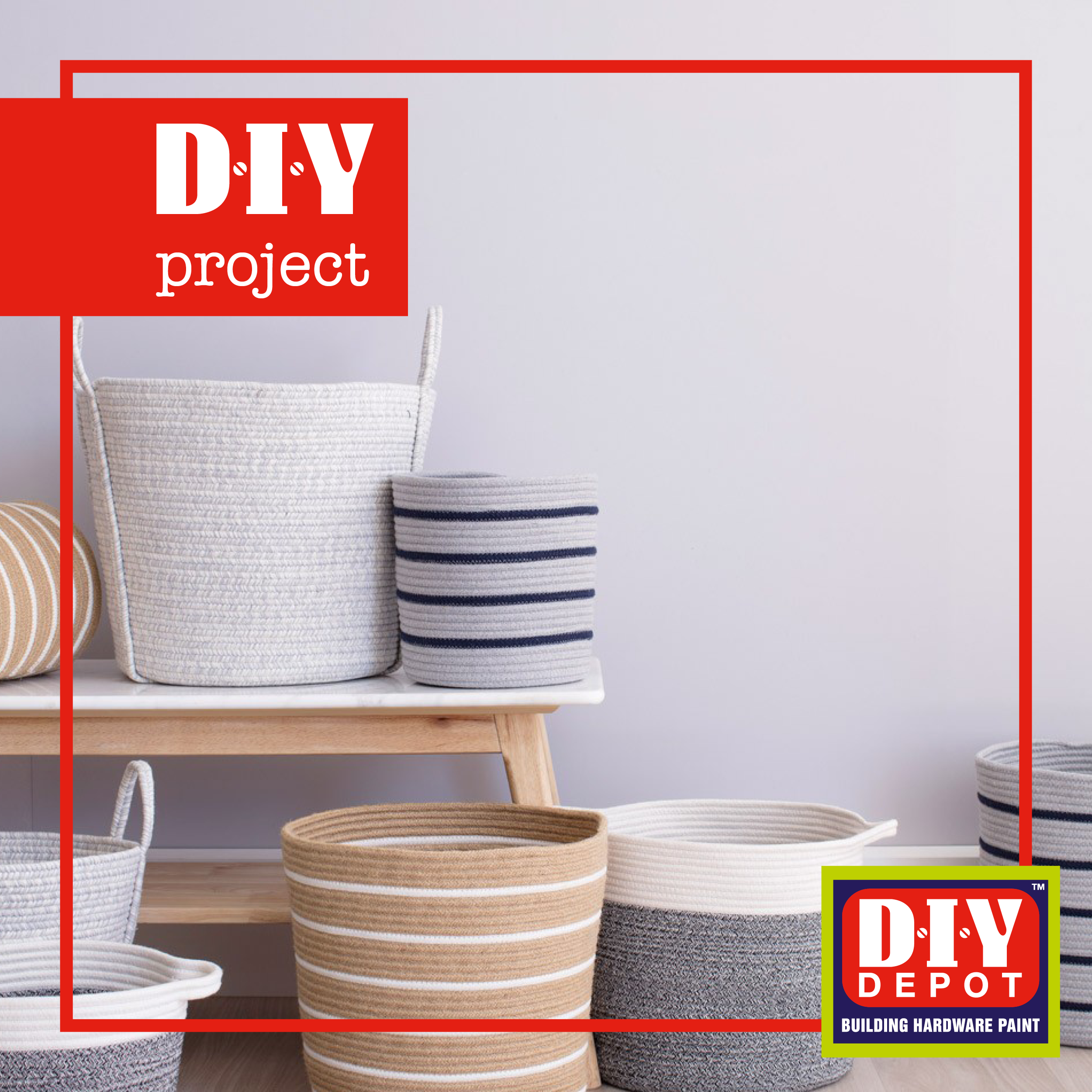 Diy Rope Basket Image